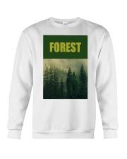 FOREST SHIRT TREE GREEN NATURE PROTECTION and camp Crewneck Sweatshirt thumbnail
