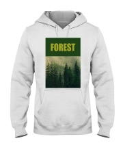 FOREST SHIRT TREE GREEN NATURE PROTECTION and camp Hooded Sweatshirt thumbnail