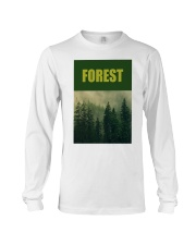 FOREST SHIRT TREE GREEN NATURE PROTECTION and camp Long Sleeve Tee thumbnail