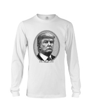 trump portrait of the President of USA Long Sleeve Tee thumbnail