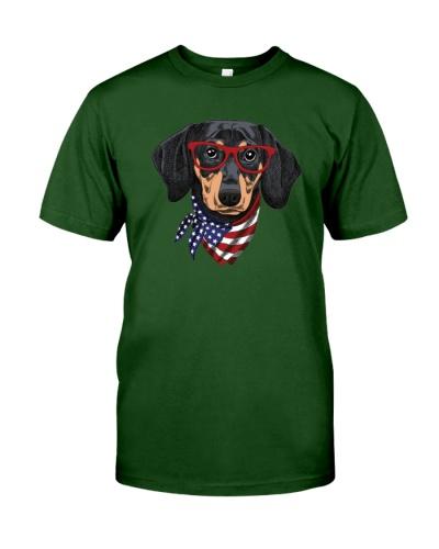 wiener dog 4th of july