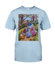 Peter Cottontail and cousins Classic T-Shirt front