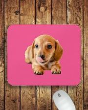 I Love My Dachshund Mousepad aos-mousepad-front-lifestyle-2