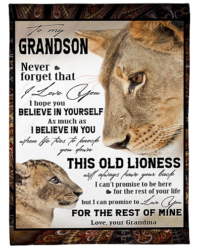 Lion To My Grandson TL0604028a
