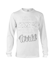 EMT - THE WORLD Long Sleeve Tee front