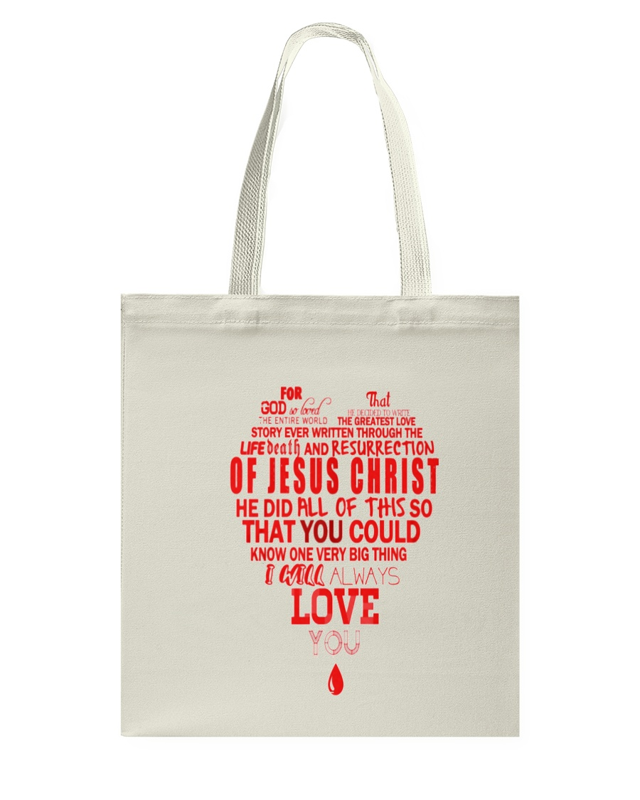 For God So Loved the World Tote Bag