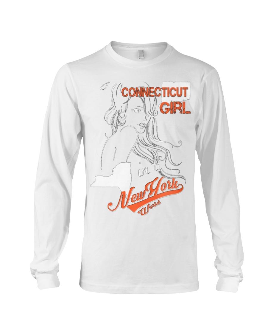 Connecticut Girl Long Sleeve Tee