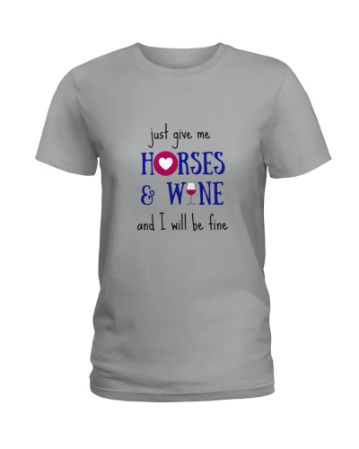 Just give me Horses and Wine tops