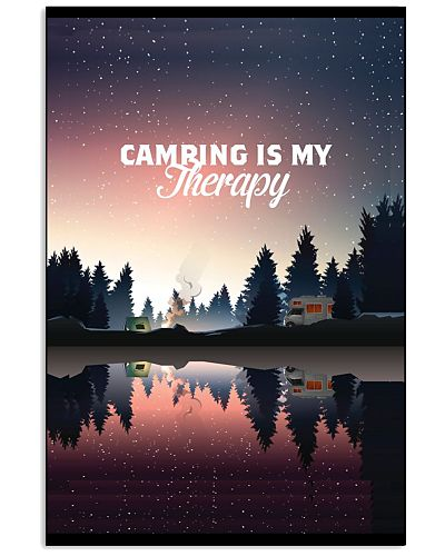 Camping Is My Therapy TC