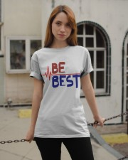 BE BEST T-Shirt Classic T-Shirt apparel-classic-tshirt-lifestyle-19