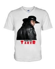 KING OF KINGS TAKER T-Shirt V-Neck T-Shirt thumbnail