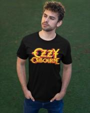 OZZY Osbourne Distressed Logo T-Shirt Classic T-Shirt apparel-classic-tshirt-lifestyle-front-43