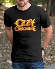 OZZY Osbourne Distressed Logo T-Shirt Classic T-Shirt apparel-classic-tshirt-lifestyle-front-52
