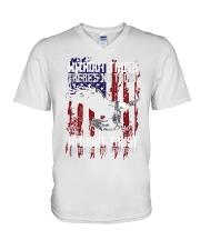 Eagle Democracy V-Neck T-Shirt thumbnail