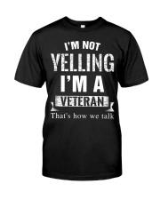 Veteran Yelling Classic T-Shirt thumbnail