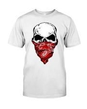 Insane Throttle Famous Max Rockon Skull  Classic T-Shirt front