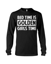 Bed Time Is Golden Girls Time T-Shirt Long Sleeve Tee thumbnail