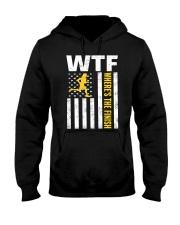 Mens WTF Wheres The Finish Running T-Sh Hooded Sweatshirt thumbnail