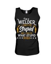 Vintage Welding T Shirt I'm A Welder I Can Unisex Tank thumbnail