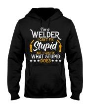 Vintage Welding T Shirt I'm A Welder I Can Hooded Sweatshirt thumbnail