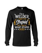 Vintage Welding T Shirt I'm A Welder I Can Long Sleeve Tee thumbnail