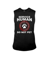 Funny-Dog-Owner-Emotional-Support-Human Sleeveless Tee thumbnail