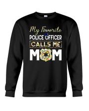 My-Favorite-Police-Officer-Calls-Me-Mom Crewneck Sweatshirt thumbnail