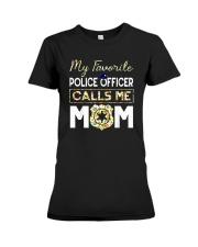My-Favorite-Police-Officer-Calls-Me-Mom Premium Fit Ladies Tee thumbnail