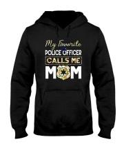 My-Favorite-Police-Officer-Calls-Me-Mom Hooded Sweatshirt thumbnail