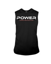 Power the perfect mind in healthy body Sleeveless Tee thumbnail