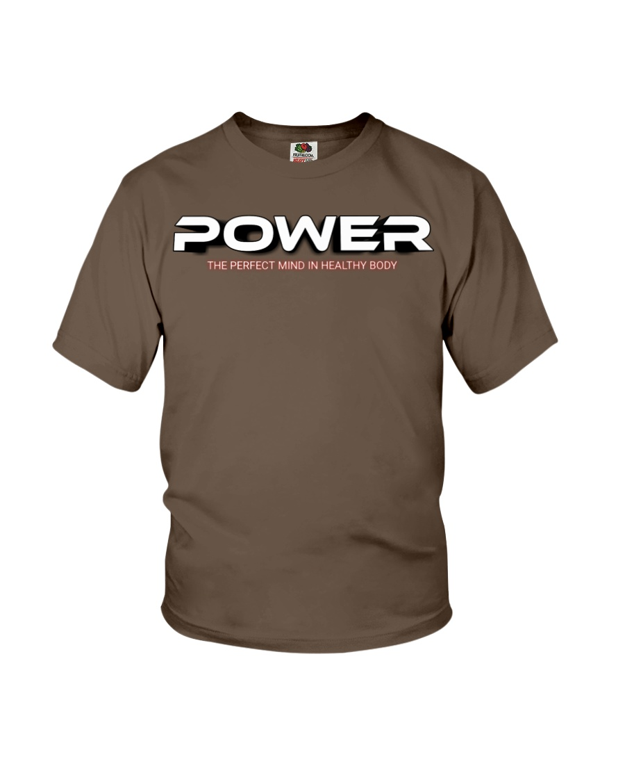 Power the perfect mind in healthy body Youth T-Shirt