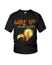WAKE YP TO BE HAPPY 2020 Youth T-Shirt thumbnail
