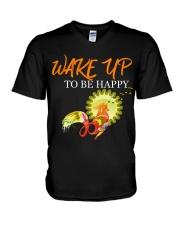 WAKE YP TO BE HAPPY 2020 V-Neck T-Shirt thumbnail