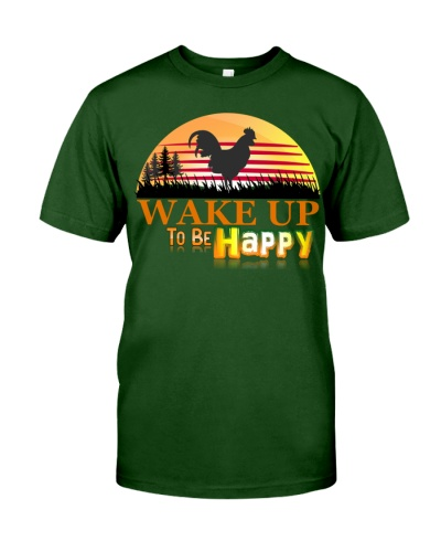 Wake up to be happy