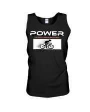 Power the perfect mind in healthy body Unisex Tank thumbnail