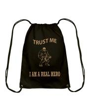 Real Hero Drawstring Bag thumbnail