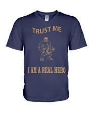Real Hero V-Neck T-Shirt thumbnail