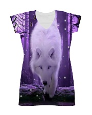 I LOVE WOLF All-over Dress thumbnail