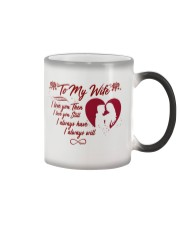TO MY WIFE Color Changing Mug thumbnail