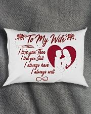 TO MY WIFE Rectangular Pillowcase aos-pillow-rectangle-front-lifestyle-1