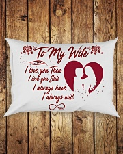 TO MY WIFE Rectangular Pillowcase aos-pillow-rectangle-front-lifestyle-2