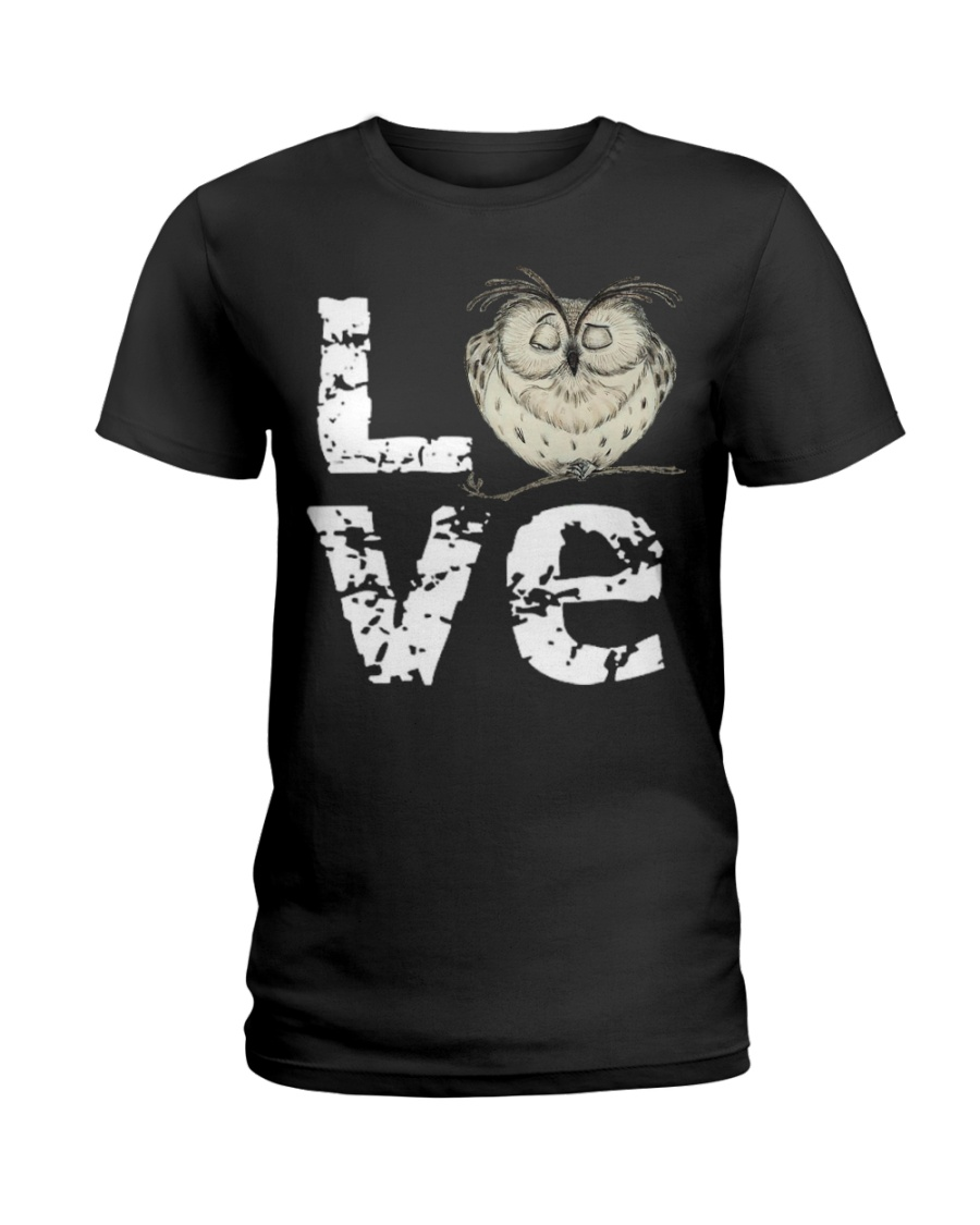 I LOVE OWL  Ladies T-Shirt