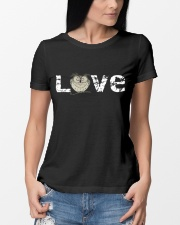 I LOVE OWL  Ladies T-Shirt lifestyle-women-crewneck-front-10