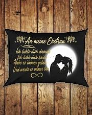 TO MY WIFE - GERMAN Rectangular Pillowcase aos-pillow-rectangle-front-lifestyle-2