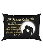 TO MY WIFE - GERMAN Rectangular Pillowcase front