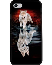 WOLF POSTER Phone Case tile