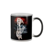 WOLF POSTER Color Changing Mug thumbnail