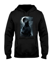 I LOVE WOLF Hooded Sweatshirt thumbnail