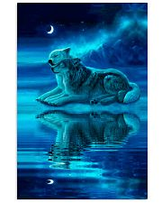 I LOVE WOLF Vertical Poster tile