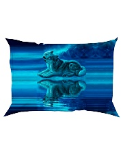I LOVE WOLF Rectangular Pillowcase thumbnail
